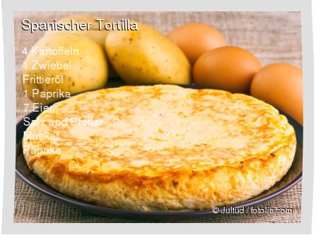 Spanischer Tortilla Rezept