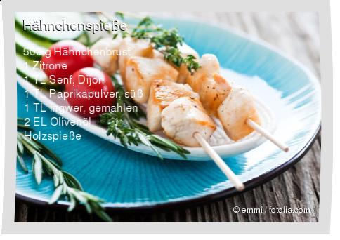 Hähnchenspieße Rezept