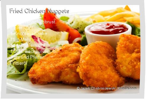 Fried Chicken Nuggets Rezept