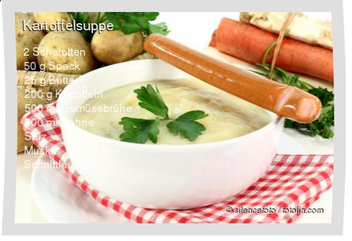 Kartoffelsuppe Rezept