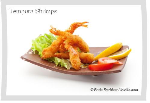 Tempura Shrimps Rezept