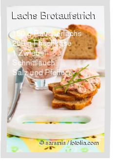 Lachs Brotaufstrich Rezept