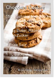 Chocolate Cookies Rezept